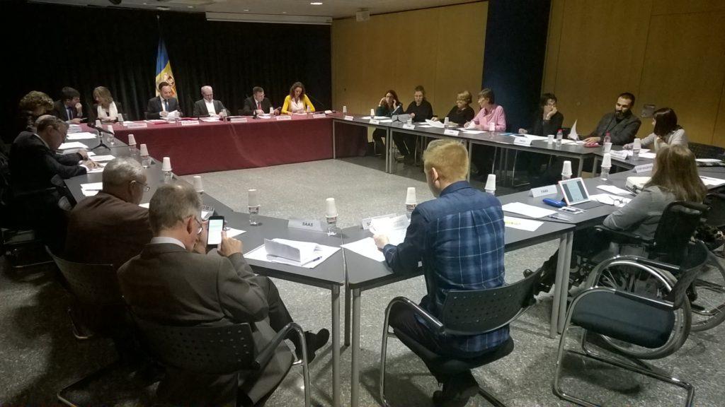 Foto: Imatge de la 1a reunió de la COPEC.